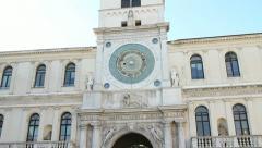 Piazza dei Signori Padua Stock Footage