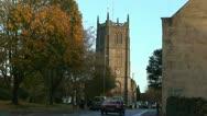 St John's Church in Keynsham Stock Footage