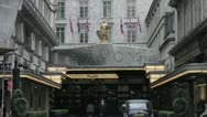 Stock Video Footage of Savoy Hotel