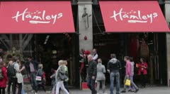 Hamleys Toy Store London Stock Footage