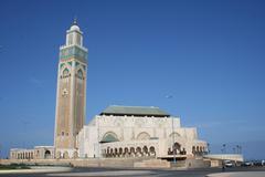 Marocco, Casablanca, Hassan II Mosque  Stock Photos