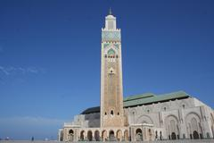Marocco, Casablanca, Hassan II Mosque - stock photo