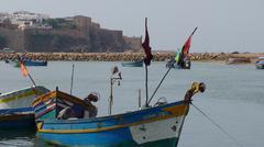 Stock Photo of Rabat harber