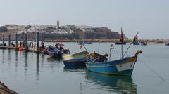 Rabat harber - stock photo
