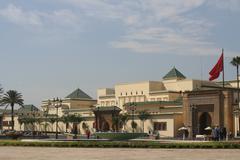 Rabat, Royal palace Stock Photos