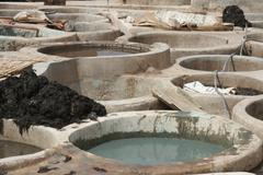 Tannery - stock photo
