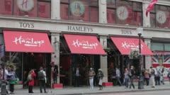 Hamleys Toy Shop Stock Footage