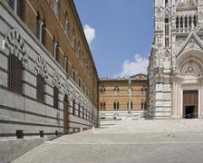 siena cathedral - stock photo