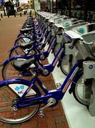 Rental Bicycles Stock Photos