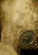 Pergamentti retkikunta etsimään aarretta Kuvituskuvat