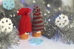 winter fairytale - stock photo