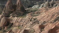 Famous city  Cappadocia in Turkey Stock Footage