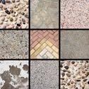 Stock Photo of Stone texture collage