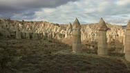 Stock Video Footage of Famous city  Cappadocia in Turkey