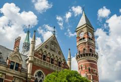 Jefferson Market Library.jpg Stock Photos