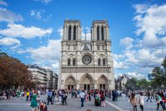 Notre Dame Day.jpg - stock photo