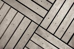 Wood floor background texture - stock photo