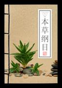 Ancient Chinese medical books (clipping path) Stock Photos