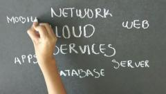 Cloud Services Stock Footage