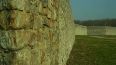 fort frederick fort state park - stock footage
