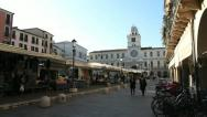 Stock Video Footage of Piazza dei Signori, Padua