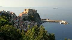 Scilla castle Reggio Calabria, Calabria, Italy - stock footage