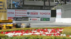 Long Beach Grand Prix Indy Race 2011 02 Stock Footage
