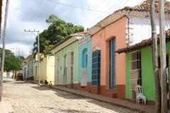 Stock Photo of Cuba, Trinidad, streetview