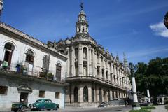 Havana, Cuba, Teatro de La Habana - stock photo