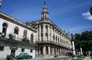 Stock Photo of Havana, Cuba, Teatro de La Habana