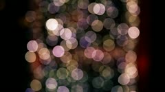 glimmer lights tricolor - stock footage