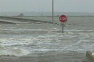 Hurricane Storm Surge Stock Footage
