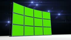 Videowall Stock Footage