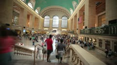 New York City-Grand Central Station - stock footage