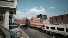 New York City- Highline - stock footage