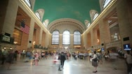 Stock Video Footage of New York City-Grand Central Station