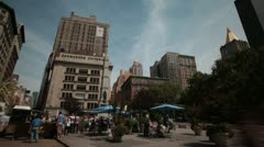 New York City- Flat Iron District - stock footage