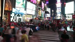 New York City - Times Square 2 - stock footage