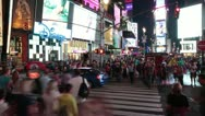 Stock Video Footage of New York City - Times Square 2