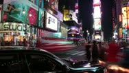 Stock Video Footage of New York City - Times Square 4