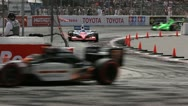 Stock Video Footage of Long Beach Grand Prix Indy Race 2011 07