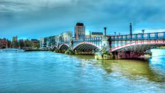 Southwark bridge Stock Photos