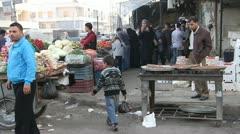 Aleppo Markets  Stock Footage