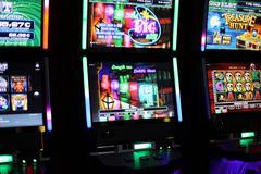 Slot machines videopoker EDITORIAL - stock photo