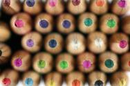 Wood pencils Stock Photos