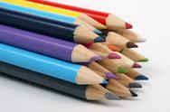 Wood pencils Stock Photos