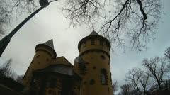 Classic Miniature Castle, Version #1 of 2 Stock Footage