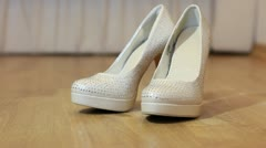 Women's shoes Stock Footage