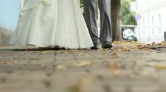 Wedding couple Stock Footage