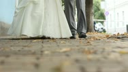Stock Video Footage of Wedding couple